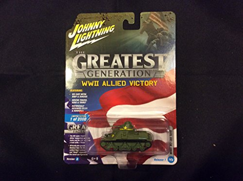 Johnny Lightning Greatest Generation WWII Allied Victory for sale  Delivered anywhere in USA