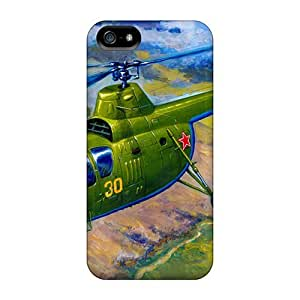 Awesome Design Helicopter, D?D?-1D?, Propeller, Landscape Hard Case Cover For Iphone 5/5s