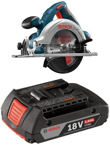 Bosch Bare-Tool CCS180B 18-Volt Lithium-Ion 6-1/2-Inch Lithium-Ion Circular Saw with 2.0 AH battery
