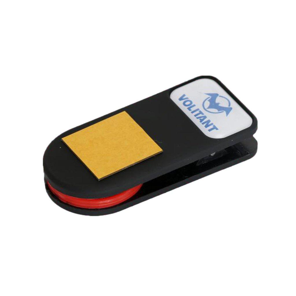 MagiDeal Kreidehalter Clip - mit Gürtelclip Billard Queue Kreidehalter, Pocket Chalk Holder