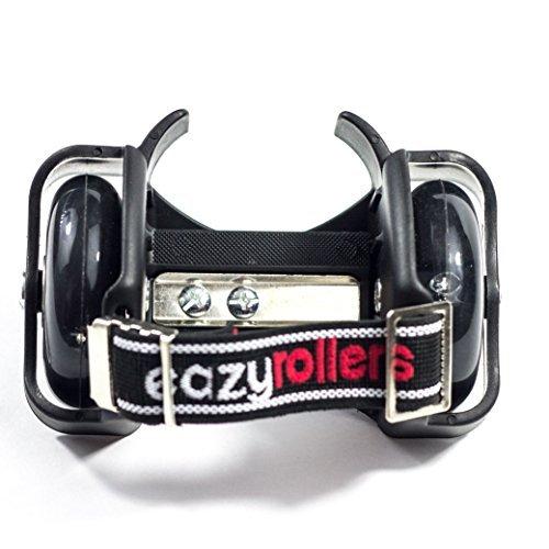 Eazy Rollers Blue heel wheels skates (Black)