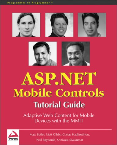 Beginning ASP.Net Mobile Controls