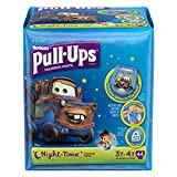 Health & Personal Care : Huggies Pull-Ups Night Time Training Pants for Boys, 3T-4T, 42 Count (Pack of 2)