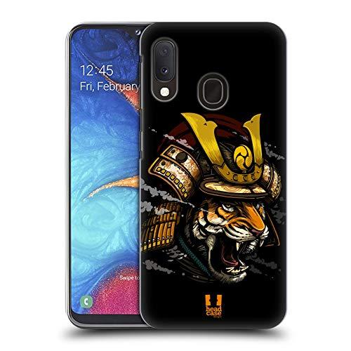 Head Case Designs Shogun Warriors from The Wild Hard Back Case Compatible for Samsung Galaxy A20e (2019)