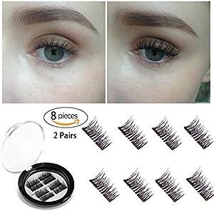 Barabum Longer Dual 3D Magnetic Eyelashes [No...