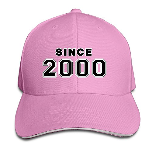 Since 2000 16th Birthday Gift Adjustable Washed Twill Sandwich Caps Hats (Keeping Up With The Kardashians S12e16 Vodlocker)
