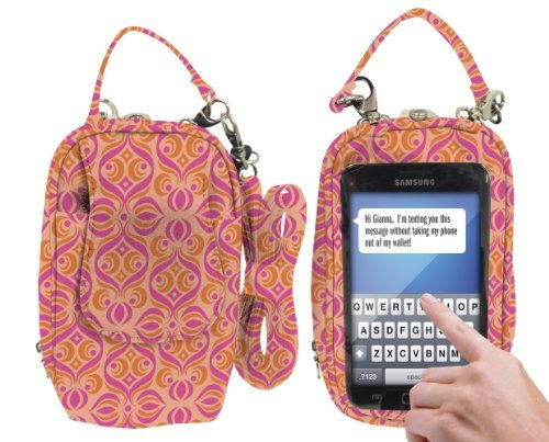 Charm 14 PursePlus Touch Cell Phone Carrying Purse Large - Retail Packaging - Ofelia