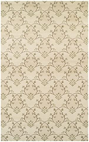 Superior Designer Aberdeen Beige and Green Area Rug 8' x 10'