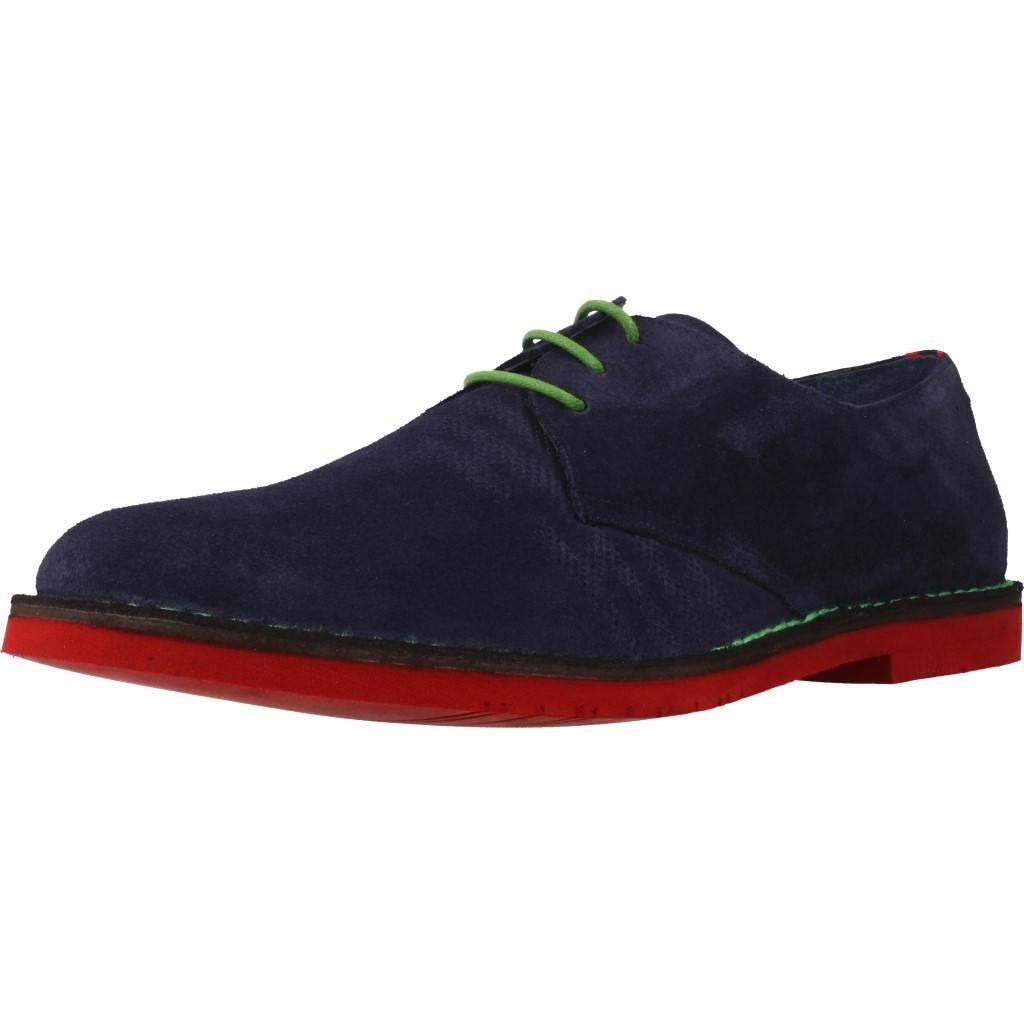 Zapatos de Cordones para Hombre, Color Azul, Marca ANGEL INFANTES, Modelo Zapatos De Cordones para Hombre ANGEL INFANTES 57016A Azul