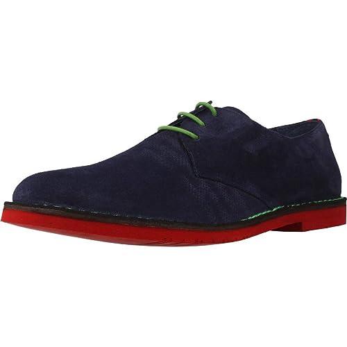 Zapatos de Cordones para Hombre, Color Azul, Marca ANGEL INFANTES, Modelo Zapatos De Cordones para Hombre ANGEL INFANTES 57016A Azul: Amazon.es: Zapatos y ...