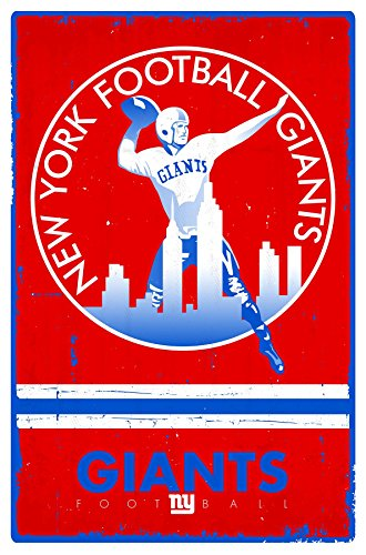 - Trends International New York Giants Retro Logo Wall Posters, 22
