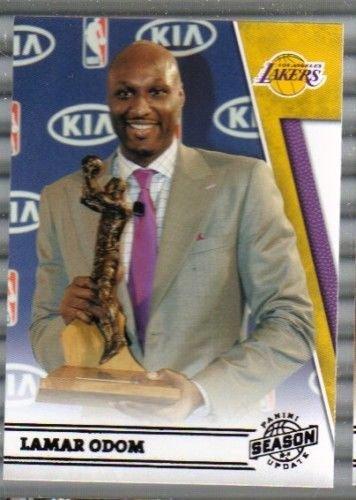 2010-11 Panini Season Update #199 Lamar Odom Lakers