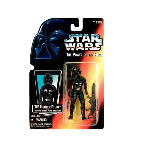 Star Wars Power of the Force Tie Fighter Pilot Action Figure with Imperial Issue Blaster Pistol (Star Wars Imperial Tie Fighter)