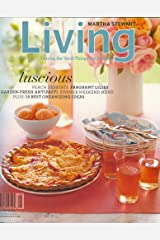 Martha Stewart Living, August 2006 Issue Single Issue Magazine