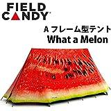 テント Field Candy フィールド キャンディー 2人用 オリジナル エクスプローラー What a Melon アウトドア キャンプフェス Aフレーム型 釣り イギリス製 海水浴 プール