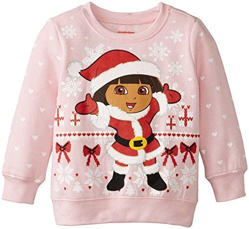 Dora Toddler Girls' Fashion T-Shirt Shirt, Light Pink, 2T