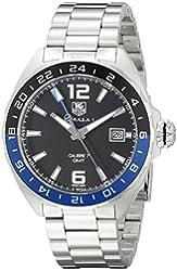 TAG Heuer Men's WAZ211A.BA0875 Formula 1 Analog Display Swiss Automatic Silver Watch