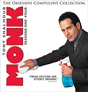 Monk: The Obsessive Compulsive Collection (Seasons One - Four)