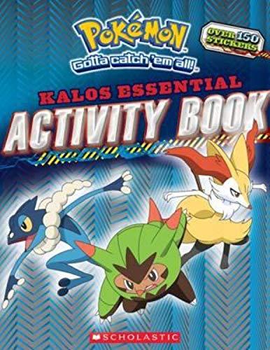 Pokemon: Kalos Essential Activity Book -