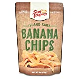 Sun Tropics Island Saba Thin Banana Chips 6oz (3 Pack)