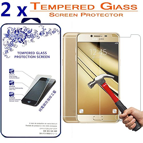 Galaxy C7 SM-C7000 Screen Protector, Vigeer [ 2 Pack ] [0 3