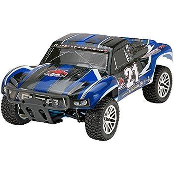 Redcat Racing Vortex SS Desert Nitro Truck, Black/Blue, 1/10 Scale