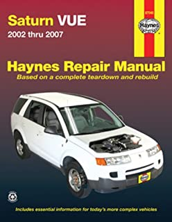 saturn vue 2002 2009 repair manual haynes repair manual haynes rh amazon com 2007 saturn ion owners manual 2007 saturn outlook repair manual free