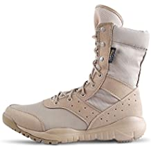 WWOODTOMLINSON Men's LD Lightweight Combat Boots Microfiber/Suede Leather Military Tactical Boots