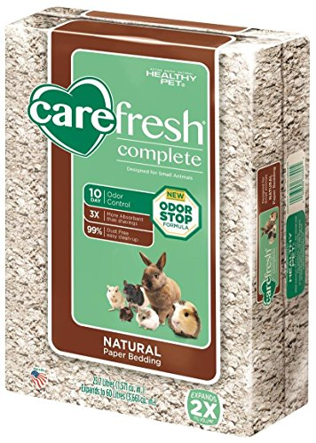 Rabbit Litter (Carefresh Complete Pet Bedding, 60 L, Natural)