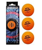 DONIC Table Tennis Ball (Orange)
