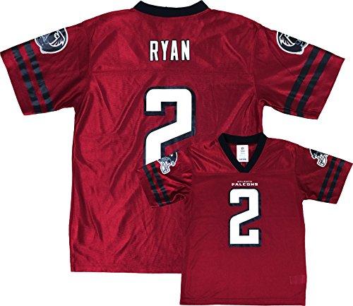 Matt Ryan Atlanta Falcons Red Home Player Jersey Youth (Large 12/14)