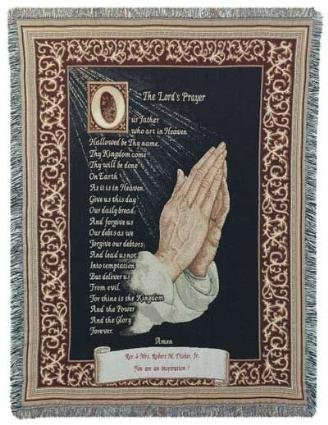 Lords Prayer Tapestry (