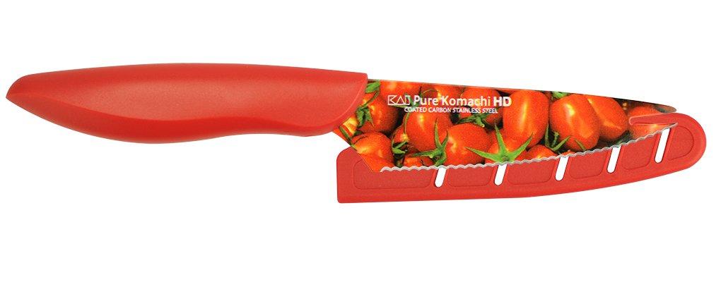 Kai USA Pure Komachi 2 AB9004 HD Photo Tomato Knife, 4-Inch, Tomatoes