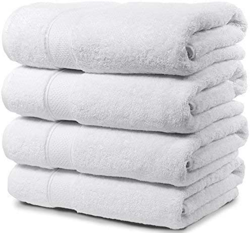 Best bath towels-Premium quality: Maura 4 piece Bath Towel