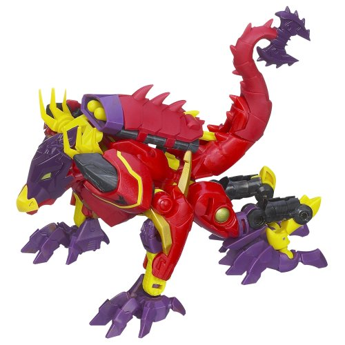 Transformers Prime Beast Hunters Deluxe Class Lazerback Figure 5 Inches (Transformers Prime Beast Hunters Optimus Prime Toy)