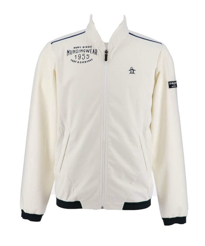 マンシングウェア ボンディングフルジップジャケット メンズ MGMMJL51 【ホワイト(WH00)LLサイズ】   B07HSXV99R