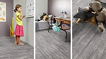 Fußbodenbelag Vergleich ~ Gerflor primetex fabrik grey 1800 pvc linoleum rolle