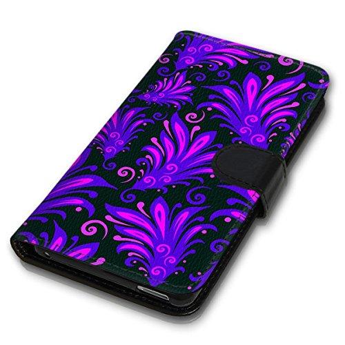 Wallet Book Style Flip Handy Tasche Case Schutz Hülle Schale Motiv Etui für Apple iPhone 4 / 4S - Design Flip MVD144