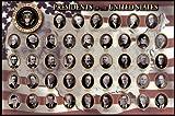 American Presidents Poster Print, 36x24 Poster Print, 36x24