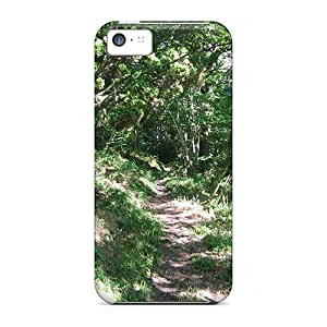 ChrisHuisman Iphone 5c Well-designed Hard Cases Covers Path Towards The River Protector