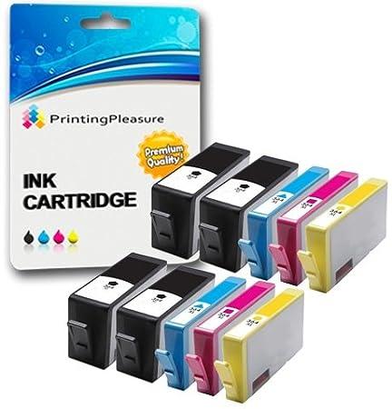 Printing Pleasure 4 Negro Cartuchos de Tinta compatibles para HP ...