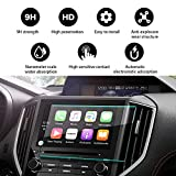 YEE PIN 2018 Subaru Crosstrek Starlink 8Inch Navigation Protector,Touch Sensitivity Anti-Explosion Scratch Resistance Tempered Glass