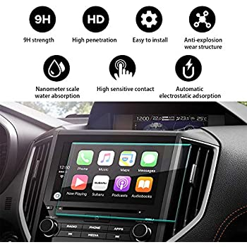 Amazon.com: YEE PIN Car Navigation Tempered Glass Screen ...