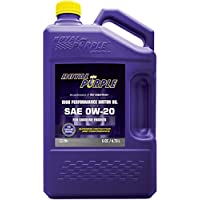 Royal Purple SAE 0W-20 High Performance Synthetic Motor Oil 5 qt.