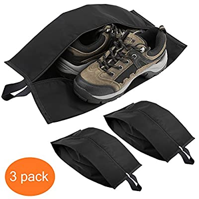 15f82b1d6b5 80%OFF Luxspire Portable Travel Shoe Bags Storage Case with Zipper Closure  (15.5 Inch