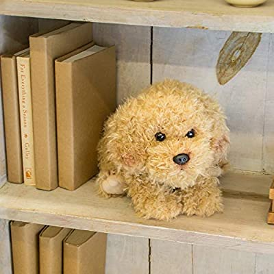 Nat and Jules Laying Large Labradoodle Dog Children's Plush Stuffed Animal Toy: Baby