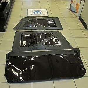 2011 2014 jeep wrangler 2 door black top rear window replacement kit tinted oem. Black Bedroom Furniture Sets. Home Design Ideas