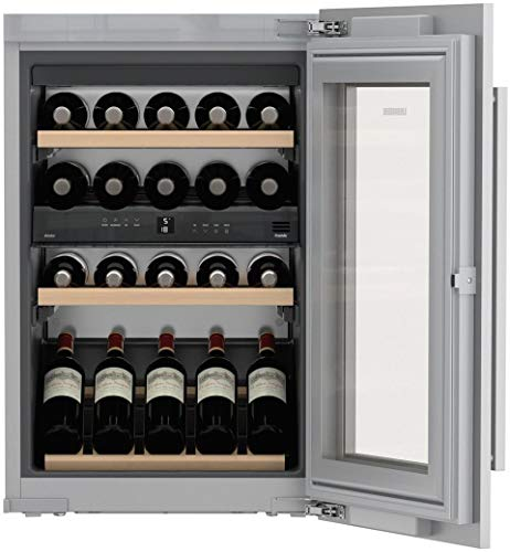 Liebherr HW3000 24 Inch Built-In Dual Zone Wine Cooler with 30 Bottle Capacity, in Panel Ready by Liebherr Products (Image #3)
