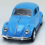 1967 Volkswagen VW Classic Beetle bug Blue Kinsmart 1:32 DieCast Model Toy Car Collectible