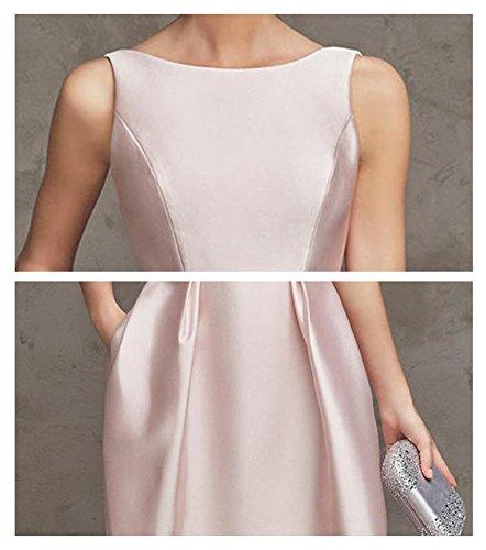 Damen Hellrosa Kleid A Drasawee Linie ZwdR7Tq